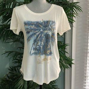 """Hollister T-Shirt """"Let It Snow Elsewhere"""""""